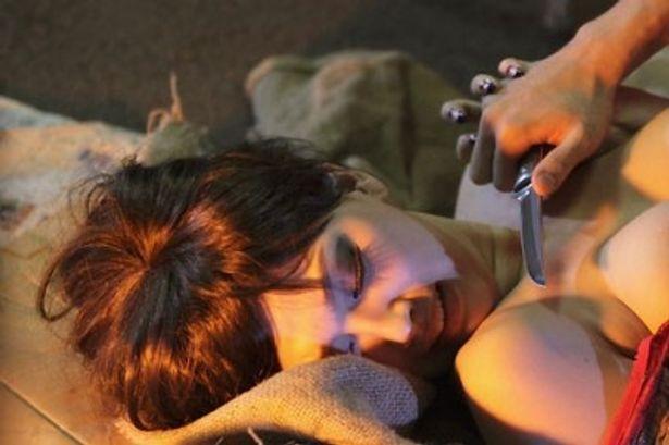 『牙狼 GARO RED REQUIEM』などでも活躍した原紗央莉がまたまたセクシー美女を演じることに