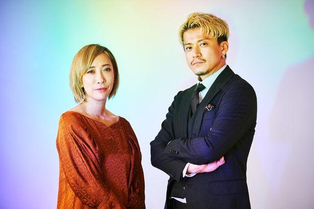 『人間失格 太宰治と3人の女たち』の小栗旬と蜷川実花監督