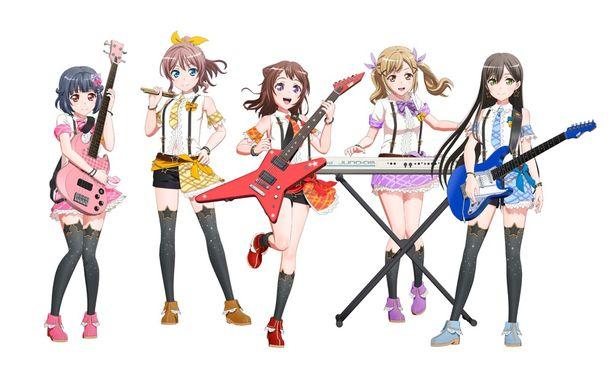物語の主人公的バンドである「Poppin'Party」