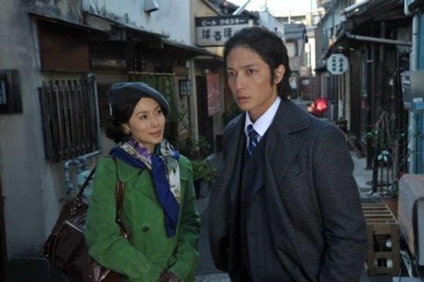 「松本清張 ドラマスペシャル」主演の玉木宏とヒロインの中谷美紀(写真右から)