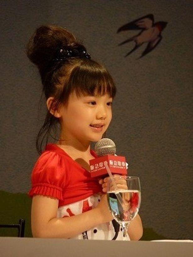 小さな女優・芦田愛菜は宮本の孫娘役で出演