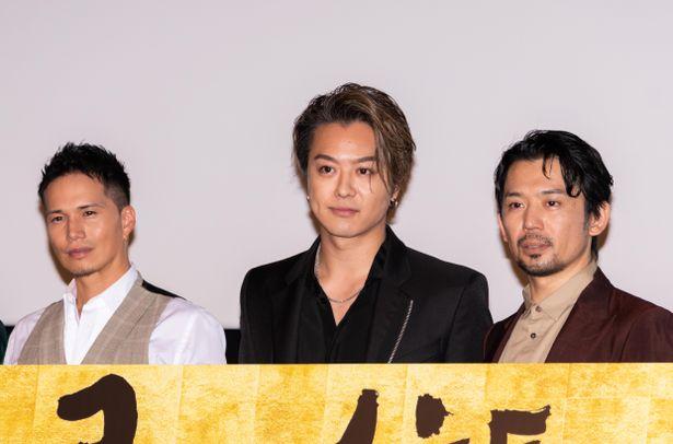 『3人の信長』の公開記念舞台挨拶が開催!