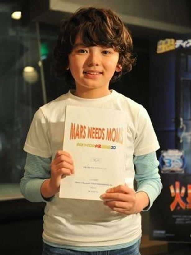 2010年の「龍馬伝」で注目を浴びた人気子役の濱田龍臣。今年はいっそうの活躍が期待されている