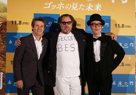 『永遠の門』ジャパンプレミアが開催!シュナーベル監督がリリー・フランキーに「『万引き家族』はすばらしかった!」