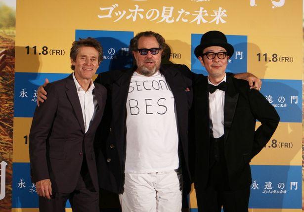 『永遠の門 ゴッホの見た未来』のジャパンプレミアが開催!