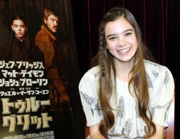 第83回アカデミー賞助演女優賞候補になった14歳のヘイリー・スタインフェルド