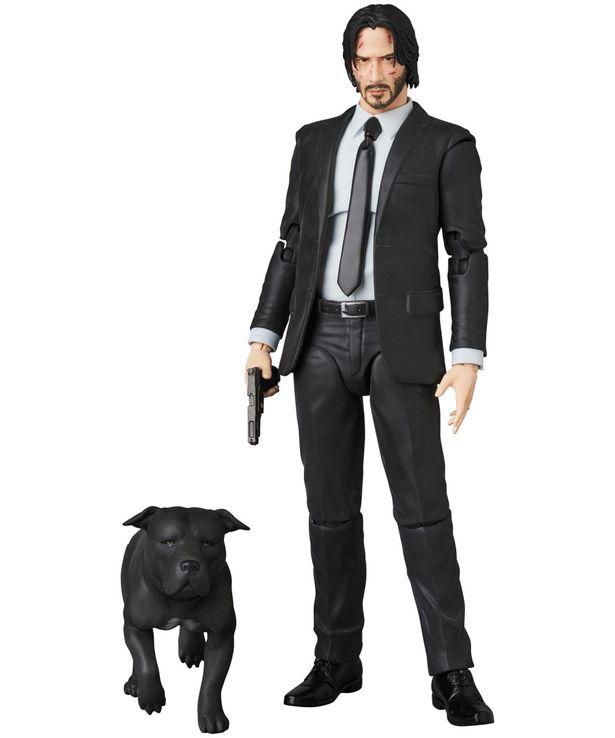 愛犬とセットの『ジョン・ウィック』のフィギュアがかっこいい!(「MAFEX JOHN WICK :CHAPTER2」)