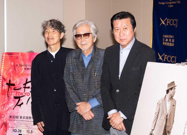 日本外国特派員協会で行われた記者会見に山田洋次監督が登壇!