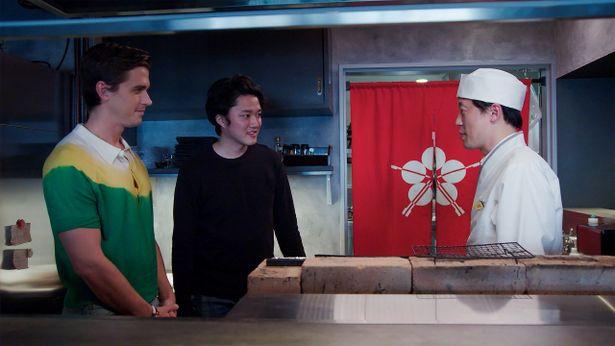 アントニも日本の職人から日本食を学ぶ