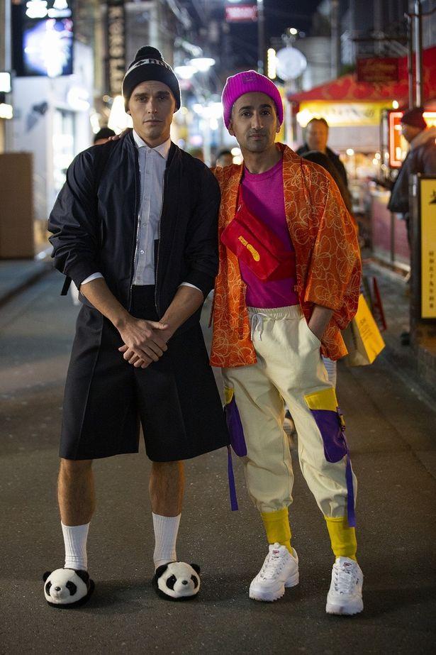 日本のファッションに感動!?アントニとタンが原宿スタイルに