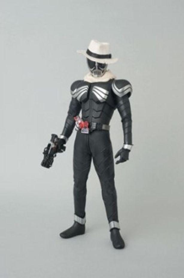 吉川晃司演じる探偵・鳴海荘吉が変身する仮面ライダースカル