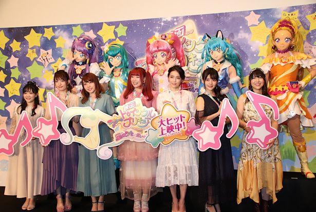 『映画スター☆トゥインクルプリキュア 星のうたに想いをこめて』の舞台挨拶が開催!