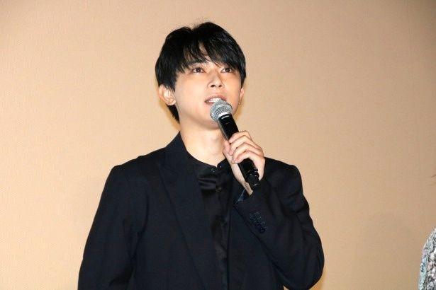 『空の青さを知る人よ』の公開記念舞台挨拶に登壇した吉沢亮