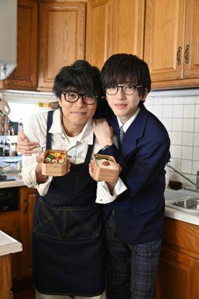 V6井ノ原快彦と、なにわ男子の道枝駿佑が親子役に!『461個のおべんとう』映画化決定