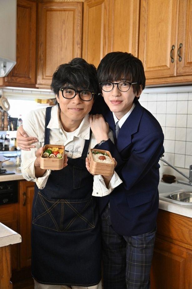 親子役で共演!V6・井ノ原快彦と関西ジャニーズJr.の人気ユニット「なにわ男子」の道枝駿佑
