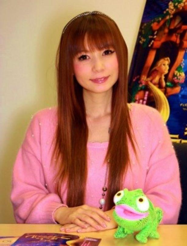 『塔の上のラプンツェル 』のヒロイン役で声の出演をした中川翔子