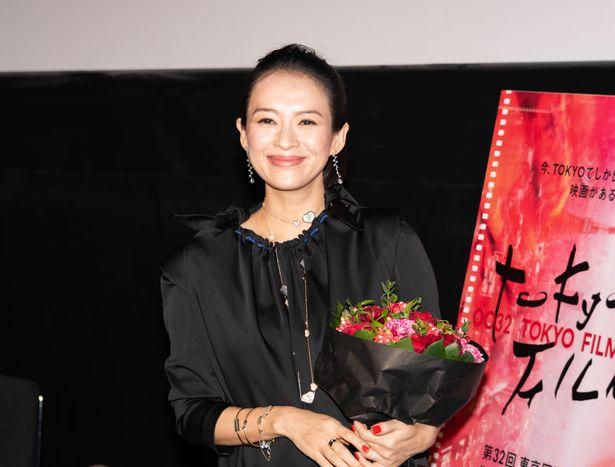 デビュー作『初恋のきた道』の上映後Q&Aにチャン・ツィイーが登壇!
