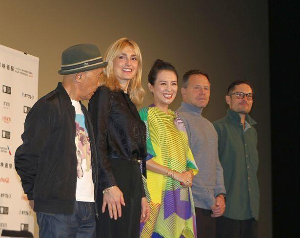 第32回東京国際映画祭のコンペ審査委員記者会見が開催された