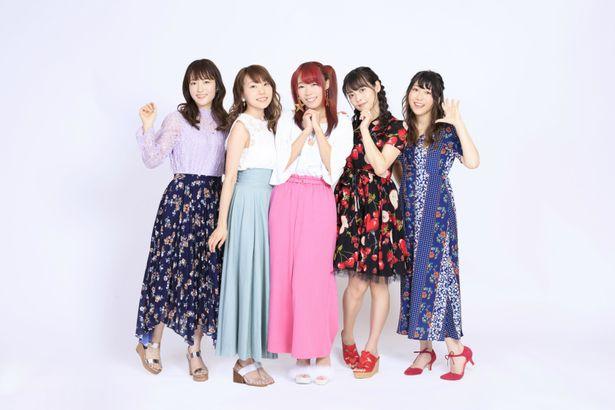 """インタビュー後編では、人気声優5人が""""スタプリ""""の魅力を語り合う!"""
