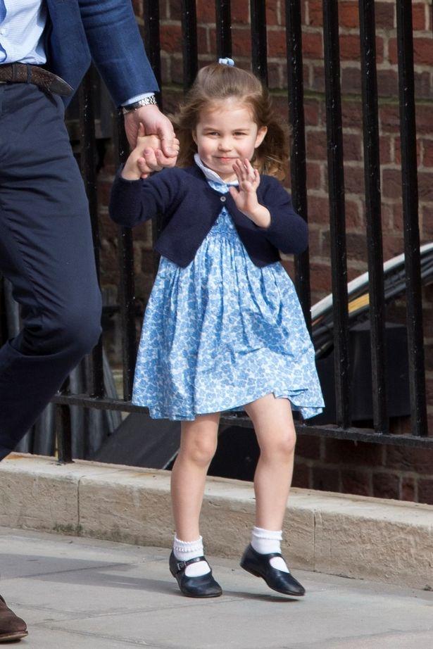 エリザベス女王に似ていると言われることの多いシャーロット王女