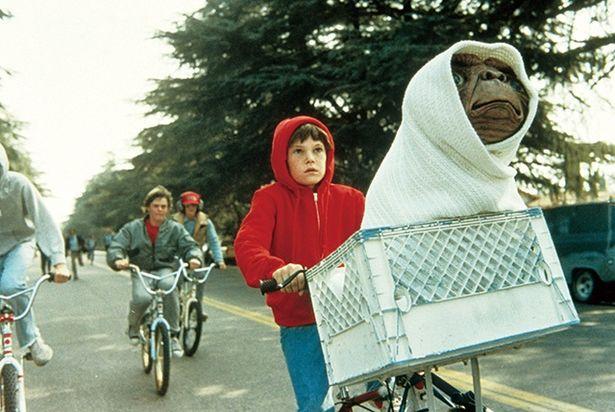 スティーヴン・スピルバーグ監督による傑作ジュブナイルSF『E.T.』