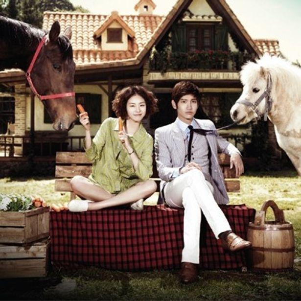 【写真】元夫婦がしだいに再び心惹かれていく展開にドキドキの「パラダイス牧場」