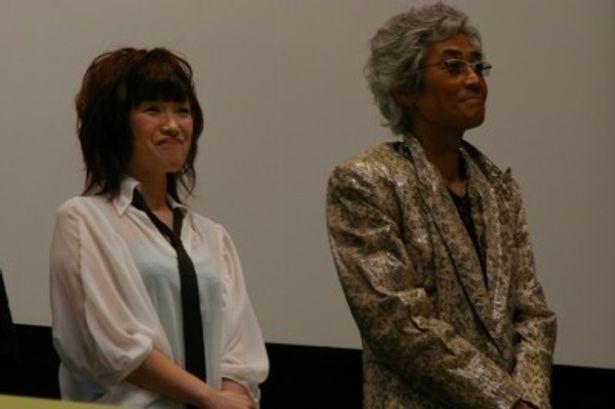 『ワンピース』シリーズで声優を務める、トニートニー・チョッパー役の大谷育江(左)とフランキー役の矢尾一樹