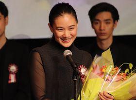 蒼井優「新しい一歩を踏みだす時期」最優秀女優賞受賞のTAMA映画賞で充実の1年を述懐