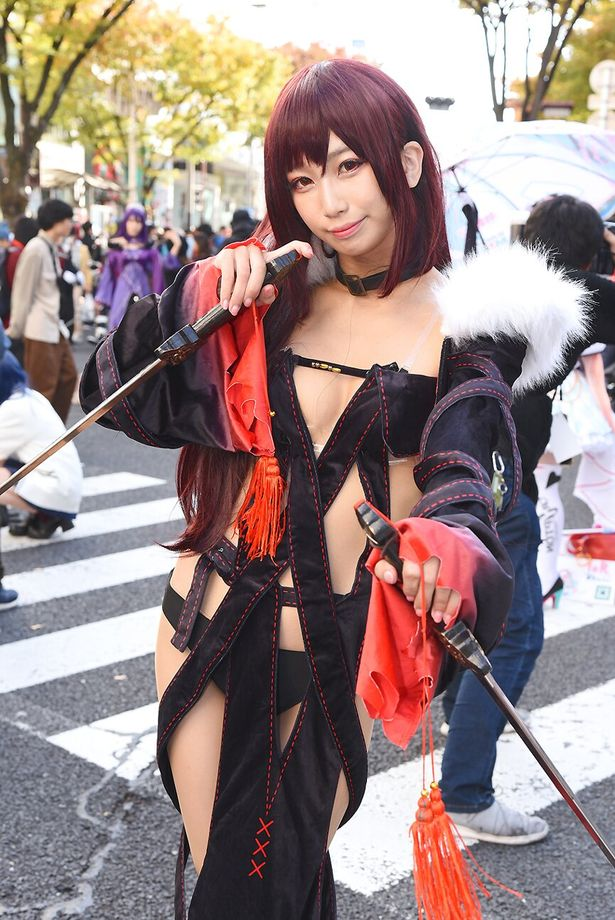 【写真を見る】「Fate/Grand Order」の虞美人に扮する望月もち子さんをはじめ、魅力的なコスプレイヤーがずらり!<写真20点>