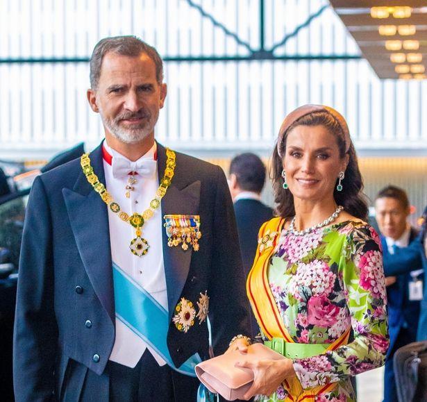 フェリペ6世国王が、レティシア王妃を祝福!