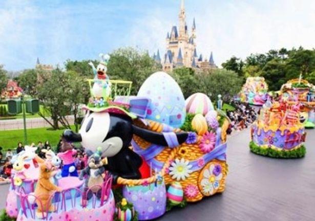 イースターのスペシャルイベント「ディズニー・イースターワンダーランド」も4月15日(日)より開催!