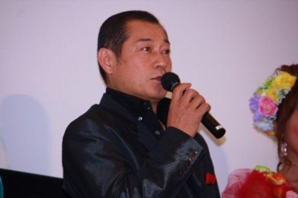 見越し入道役の松平健は父親らしいコメントを語った