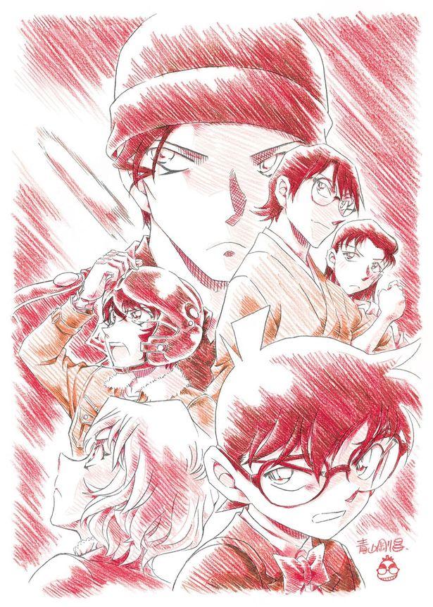 劇場版最新作『名探偵コナン 緋色の弾丸』の公開日が2020年4月17日(金)に決定!