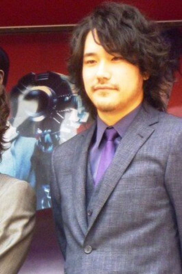 「GANTZトレーラー」終了式に、サプライズ出演した松山ケンイチ
