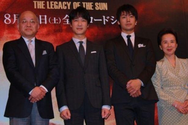 『日輪の遺産』の完成報告会見で堺雅人らが登壇