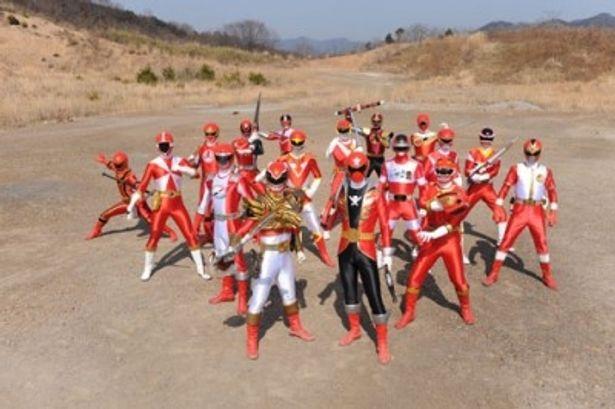戦隊といえば主人公は赤い戦士! 歴代戦隊のレッドが集結