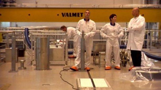 フィンランドでは地下500メートル地点に広大な放射性廃棄物の処分場を建設中
