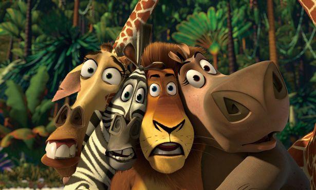 主人公の4頭だけでなく、ペンギンズ、キング・ジュリアン&モーリスら脇役も魅力的な『マダガスカル』