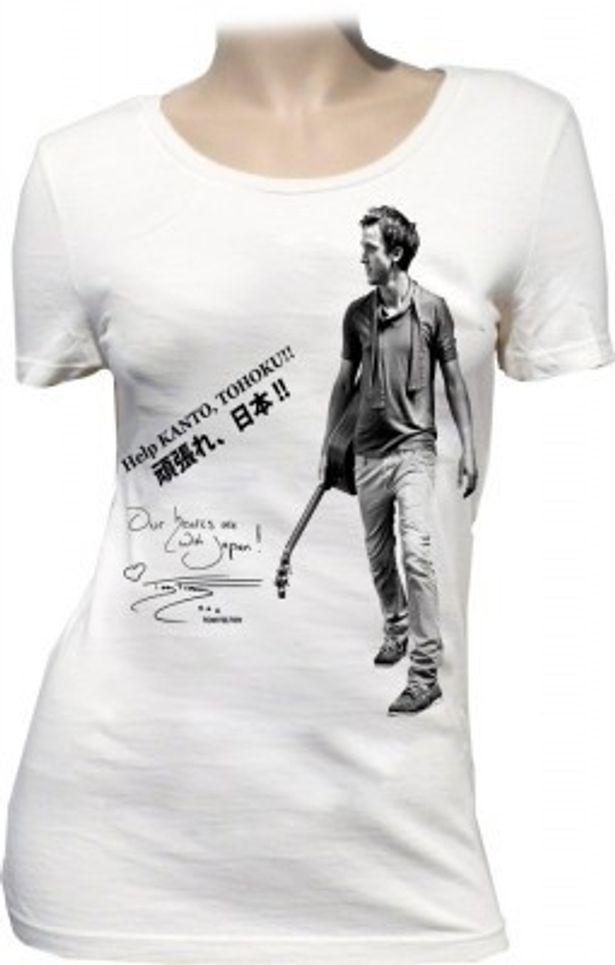 チャリティーTシャツの購入は http://www.hollywood-japan.jp/shopdetail/008001000086/ にて