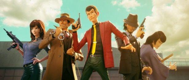 おなじみのキャラクターたちが、3DCGになって登場
