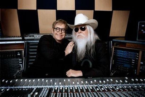 映画『The Union』は、エルトン・ジョンとレオン・ラッセル(右)がコラボを組んだ同名アルバムの制作過程を描いたドキュメンタリー