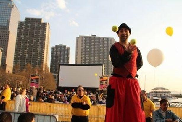 トライベッカ映画祭はマンハッタンのダウンタウンの復興を願い、ロバート・デ・ニーロらが中心となって2002年から開催。今年でもう10年目だ