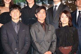 佐藤浩市、石田ゆり子、西島秀俊が互いの共演を述懐!エキストラのべ1万人の大規模ロケも