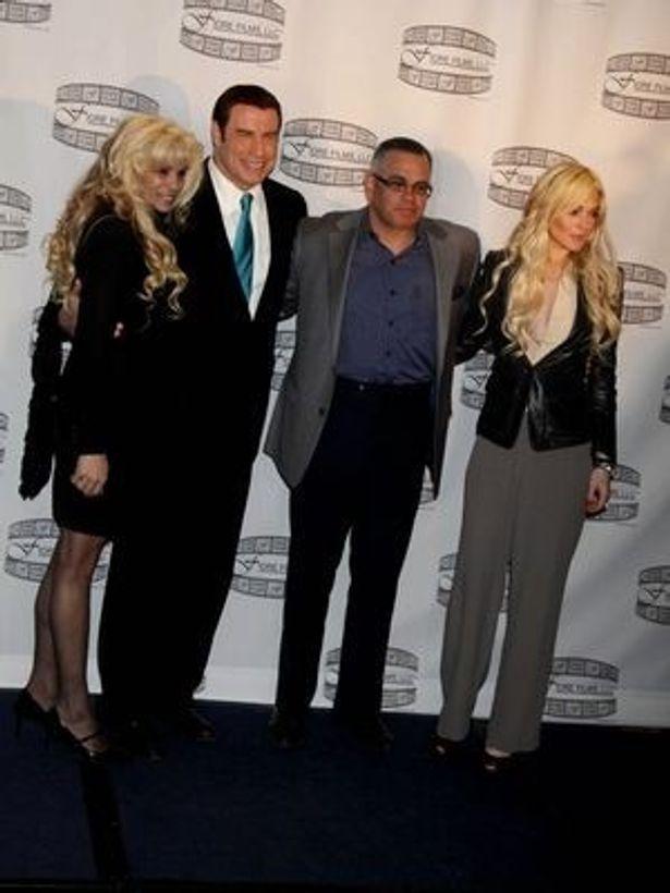 既に出演が決まっているマフィア映画『Gotti』ではジョン・トラボルタ(左から2番目)とも共演予定