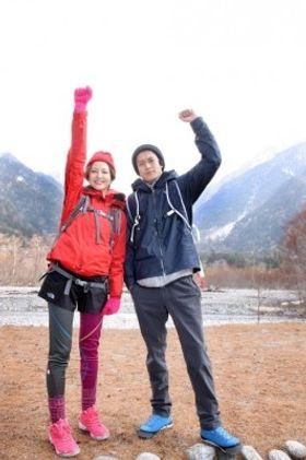 小栗旬&長澤まさみが上高地で山開きに参加!長澤まさみ、目指すはエベレスト登山?