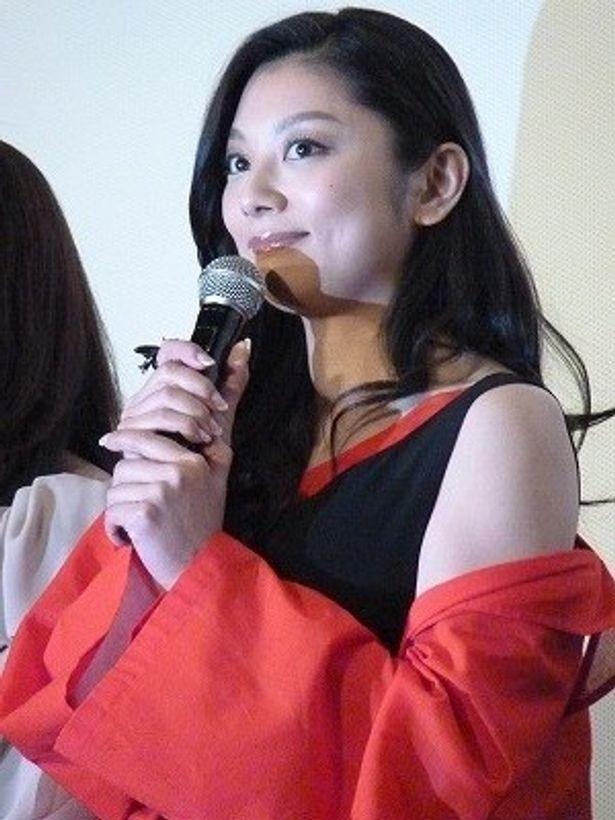 「自分には難し過ぎた」と撮影を振り返る小池栄子