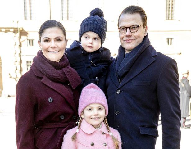 スウェーデンのヴィクトリア皇太子の娘、エステル王女のはしゃぎぶりが話題に