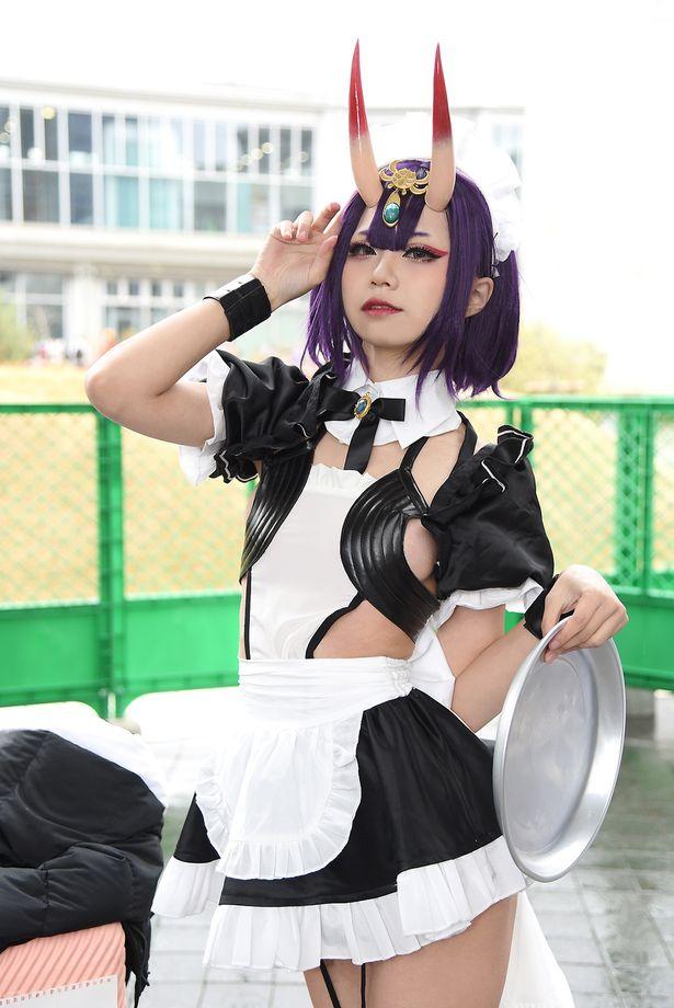 「Fate/Grand Order」の酒呑童子に扮するHatnYangさん