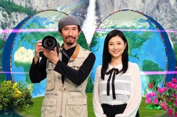 MCの二人も世界の子供たちを救う日本人を通して、「今、自分にできること」を問う