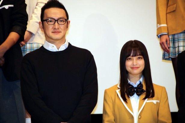 『シグナル100』で初共演した中村獅童と橋本環奈